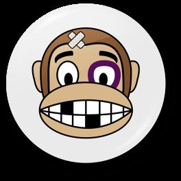 monkey-beaten-up-badge