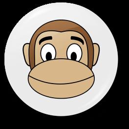 monkey-happy-badge