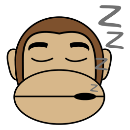 monkey-sleepy