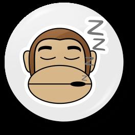 monkey-sleepy-badge