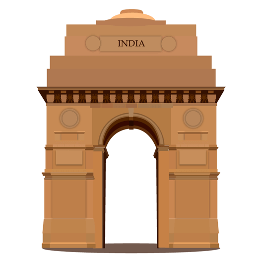 India Gate Just Stickers Just Stickers