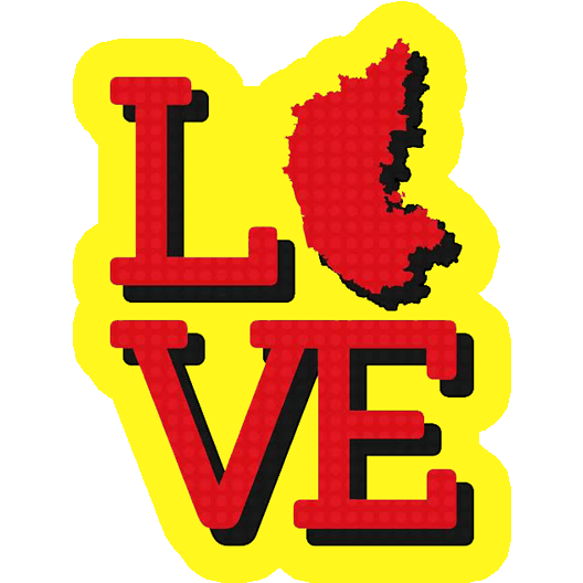 Karnataka Love Sticker - Just Stickers